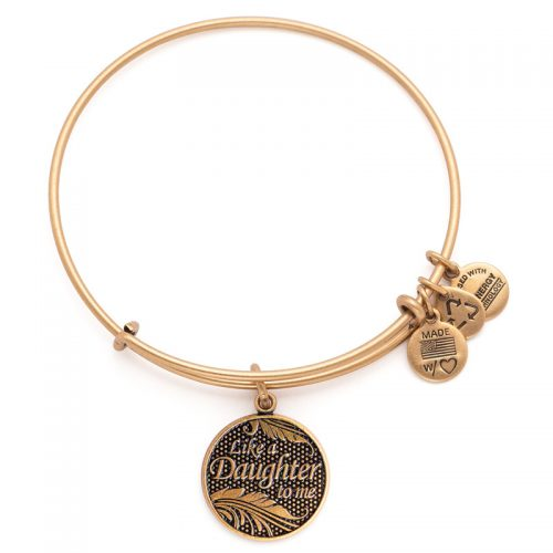 "Pulsera ""Like a Daughter to me"" ALEX AND ANI"