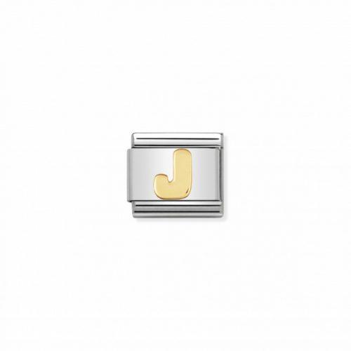 "COMPOSABLE CLASSIC LETRA ""J"" ORO 18K"