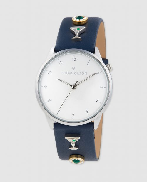 Reloj de mujer Thom Olson Day Dream CBTO007 de piel azul