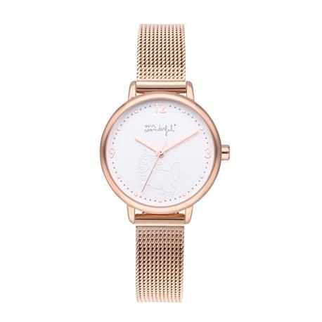 Reloj Mr. Wonderful Shine and Smile Blanco WR15001